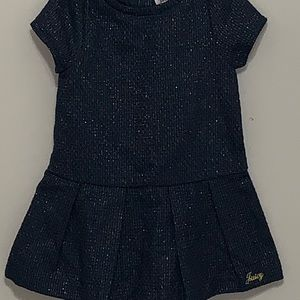 Juicy Couture Toddler Girl Navy Dress Size 18 Mo